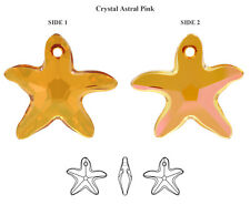 Genuine SWAROVSKI 6721 Starfish Crystals Pendants * Many Sizes & Colors
