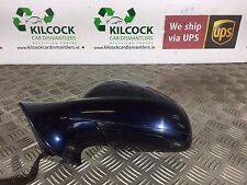 2010 PEUGEOT 407 GT COUPE WING MIRROR NEARSIDE PASSENGER LEFT BLUE ABYSS