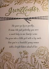 GRANDDAUGHTER RELIGIOUS GRADUATION CARD By HALLMARK Beautiful cards 2020