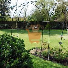 Garden Arch Climbing Plants Roses Metal Archway Trellis Self Assembly 2.4m High