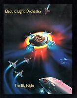 ELECTRIC LIGHT ORCHESTRA 1978 THE BIG NIGHT TOUR CONCERT PROGRAM BOOK NEAR MINT