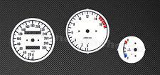 Kawasaki ZXR 400 ZXR400  Tachoscheiben Tacho Gauge plates dial speedo face Set