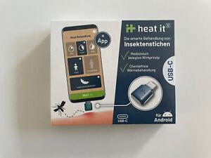 Heat_It, Elektronischer Insektenstichheiler mit Wärme