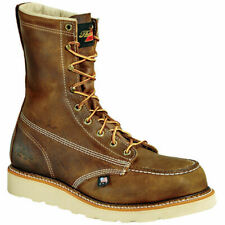 Thorogood Mens American Heritage Wedge Safety Toe Work Boot Brown 10 D US