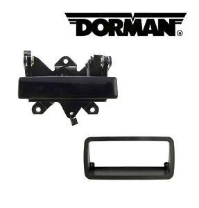 2PCS DORMAN Tailgate Handle & Handle Bezel Fit 1994-2004 Chevy S10/ GMC Sonoma