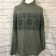Nordic Designs Mens L Lambswool Sweater
