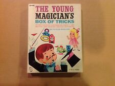 Saalfield The Young Magician's Box Of Tricks Vintage Children's Toy Game 1960's