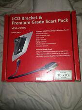 LCD BRACKET & PREMIUM GRADE SCART PACK - MOUNTECH