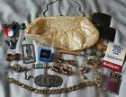 Estate+Jewelry+Lot+Vintage+Antique+Military+Advertising+Junk+Drawer+Micro+Mosaic
