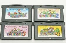 Super Mario Advance 1 2 3 4 Set GBA Nintendo Gameboy Advance Japan USED