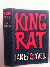 RARE - KING RAT by James Clavell (1963) 1st Edition U.K H/C w D/J
