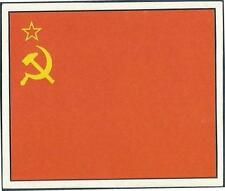 ORBIS 1990 WORLD CUP COLLECTION-#231-RUSSIA TEAM FLAG