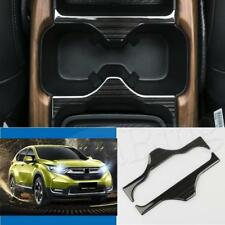 2pcs Chrome Front Water Cup Holder Cover Trim For Honda CRV CR-V 2017-18 3 Color