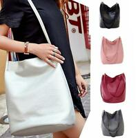 NEW Women Ladies Shoulder Bag Tote Satchel Hobo CrossBody Handbag PU Leather :