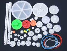 New 43 Kinds Of Gear Toy Car Motor Gear Spindle Gear Worm Rack Plastic Gears Diy