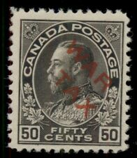 CANADA #MR2D 50¢ War Tax Ovpt, og, NH, VF, Unitrade $1,400.00