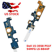Power Button Board With Cable For Dell Inspiron 15-3558 5555 5558 5559 LS-B844P