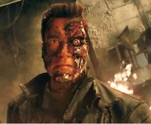 Terminator 3 1:1 Stage 5 Resin Bust Prop T850 Arnold Schwarzenegger Endoskeleton