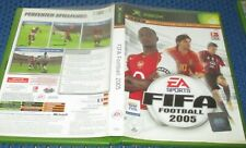 FIFA Football 2005 (microsoft XBOX, 2004, DVD-Box)