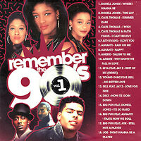 BIG MIKE - REMEMBER THE 90'S VOL. 1 (MIX CD) Donell Jones, Carl Thomas, Amerie