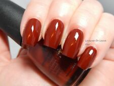 China Glaze BROWNSTONE 81071 (14ml) New: Freepost Australia