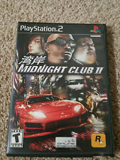 Midnight Club II 2 (Sony PlayStation 2, 2003) PS2 Cmplt w/Manual