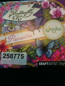 Craft Artist Digikit-Butterfly Paradise-Daisy Trail  butterflies flowers ect