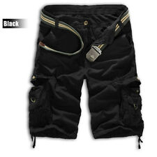 Summer Mens Army Combat Camo Work Cargo Shorts Pants Leisure Casual Trousers Hot