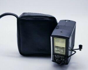 Vivitar Auto 252 Flash With Case. Vintage