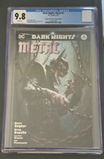 Dark Nights Metal #5 Dell'Otto Batman Who Laughs Trade Variant CGC 9.8