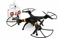 Syma X8W Black 4 Channel Wifi FPV  Drone with Camera 2.4 Ghz Quadcopter