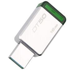 Kingston DT50 16GB USB3.1 Metal USB Flash Drive Mini High-Speed On-Car Pen Thumb