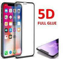 For iPhone X 5D Gorilla Full Glue Cover Screen Protector Tempered Glass NEW