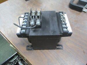 Eaton Control Transformer C0750E2AFB 750VA Pri: 240/480V Sec: 120V 50/60Hz Used