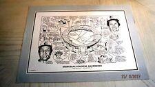 MEMORIAL STADIUM Home of the Orioles (22x16) Print/Photo -Frank Robinson,McNally