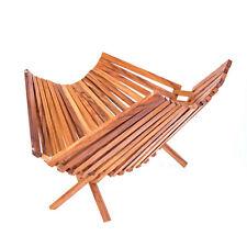 "Olive Wood, Foldable Basket for Fruits or Vegetables - Handmade - 11"" Tall"