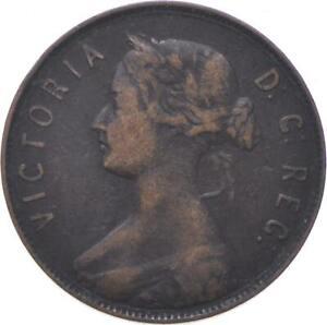 Better - 1880 Canadian Provinces 1 Cent - Newfoundland - TC *788