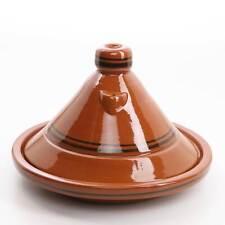 "Marokkanische Tajine ""Terra Miel"" D 40 cm Tagine Tontopf Gartopf zum Kochen Neu"