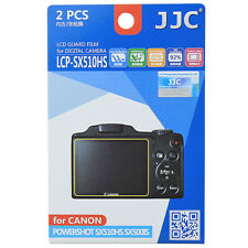 2x Film LCD Screen Display Hard Protection for Canon Powershot SX510HS SX500IS