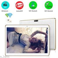 "10"" HD Bluetooth WIFI Camera Dual SIM Quad Core Tablet PC Android 6.0 1GB 16GB"