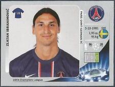 PANINI UEFA CHAMPIONS LEAGUE 2012-13- #064-PARIS ST-GERMAIN-ZLATAN IBRAHIMOVIC