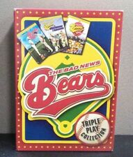 Bad News Bears Triple Play Collection   (3 DVD Set)  w/Slipcover    BRAND NEW