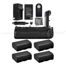 Battery Grip for Canon EOS 7D MKII BG-E16 + 4x LPE6 Batteries + Charger Kit