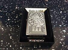 More details for     zippo lighter lucky seven emblem absolutely brilliant detailed lighter