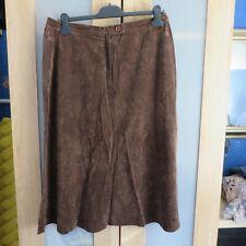 Kazuelle Brown 'suede' Skirt size 20