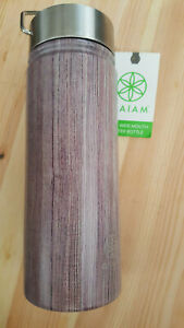 NEW Gaiam 18oz Wide Mouth Water Bottle Stainless Steel Insulated Double Walled