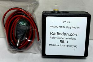 Amplifier keying relay buffer amateur radio interface RBI-1 switching, 300 SOLD!