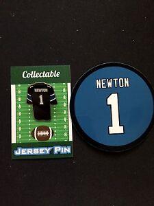 Carolina Panthers Cam Newton lapel pin & magnet-Classic Collectable-Fan Fav Item