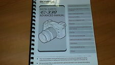 Appareil photo numérique Olympus E-330 imprimé manuel d'utilisation guide utilisateur 196 pages