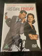 His Girl Friday - 1940 - Cary Grant, Rosalind Russell  (DVD, 2003) New & Sealed